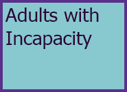 Adults Level 4 Adults with Incapacity