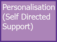 Children and Families Level 3 Personalisation