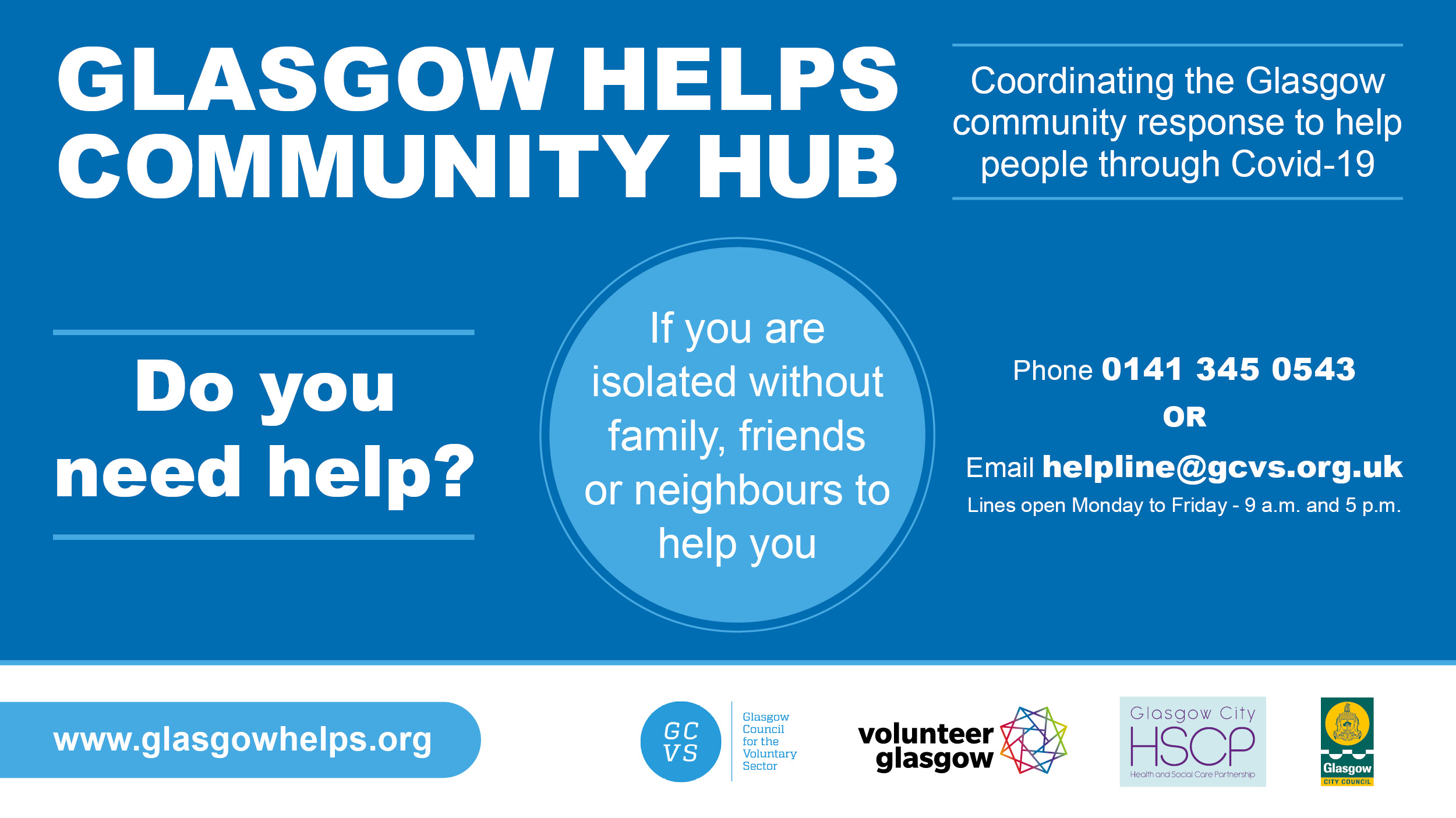 Glasogw Helps Community Hub